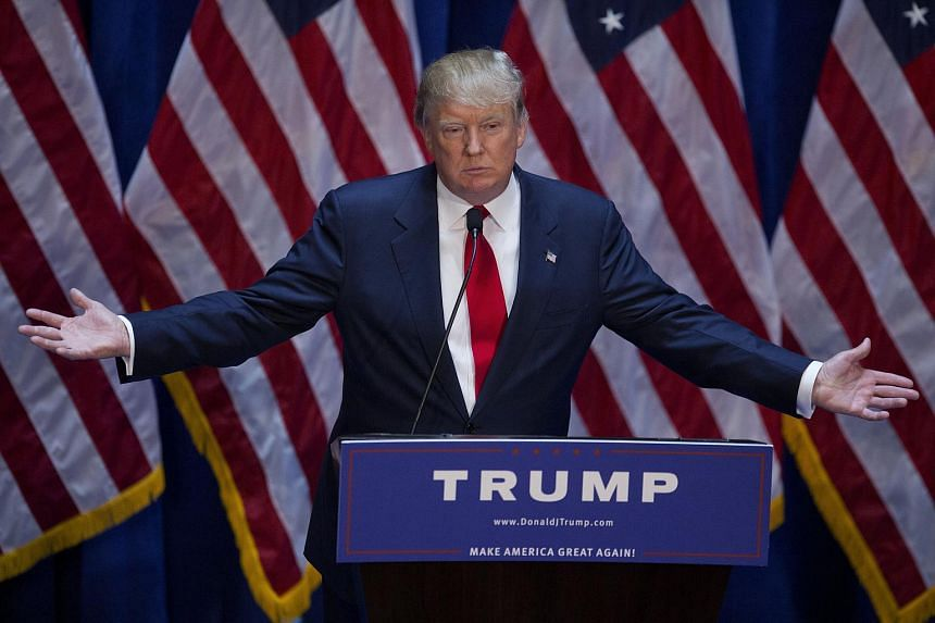 Mr Trump wallowed in political incorrectness on Tuesday as he insulted everyone from Mexican immigrants to Jeb Bush in announcing his bid.