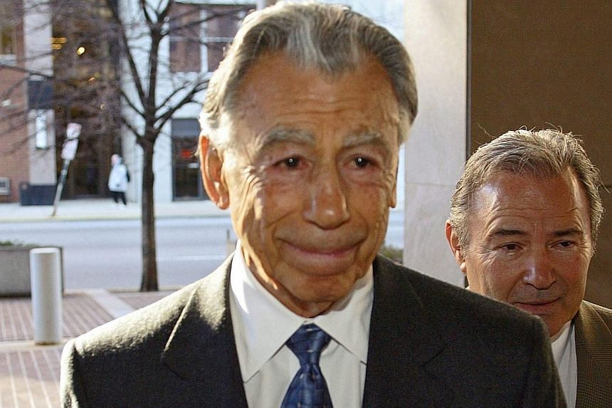 A file picture dated Dec 2, 2003, of US billionaire investor Kirk Kerkorian.