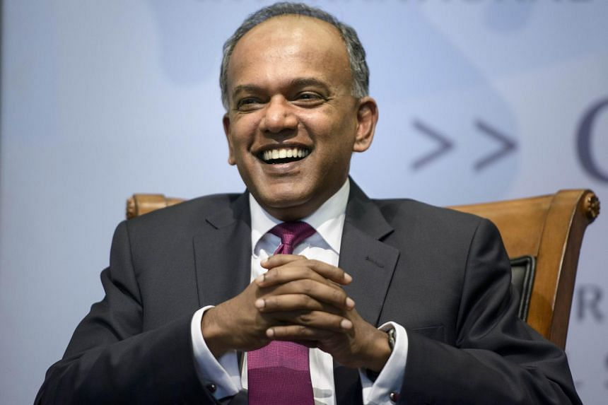 Foreign Affairs Minister K. Shanmugam gave a hard-hitting critique of US policy on Asia during a forum in Washington.