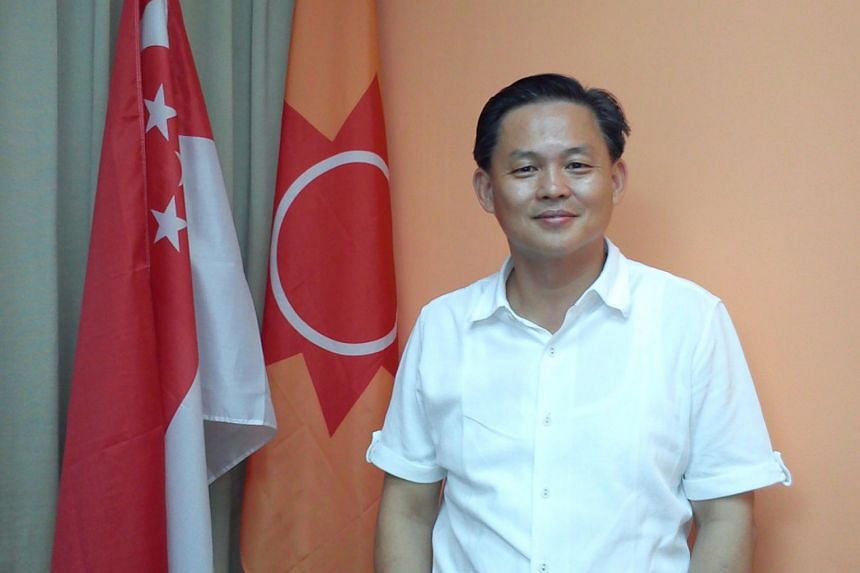 National Solidarity Party secretary-general Tan Lam Siong. He has stepped down less than five months after being elected to the position.