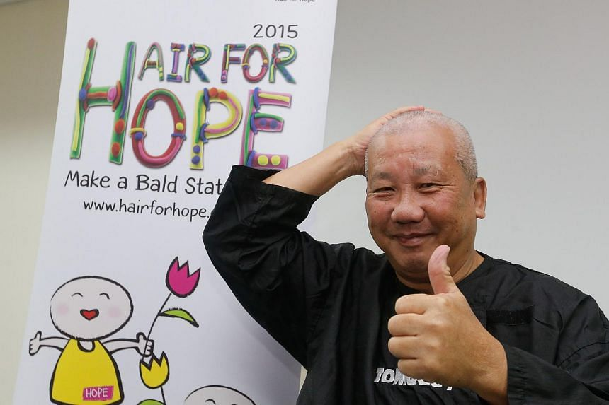 CabbyCare Charity Group, a voluntary organisation made up of some 150 ComfortDelGro cabbies, is supporting Hair for Hope, the Children Cancer Foundation's annual fundraising event.