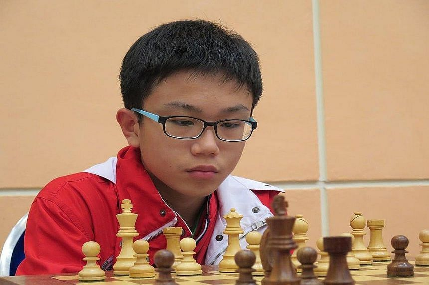 Tin Jingyao, 15, is the second youngest Singaporean to attain the open-age international master title.