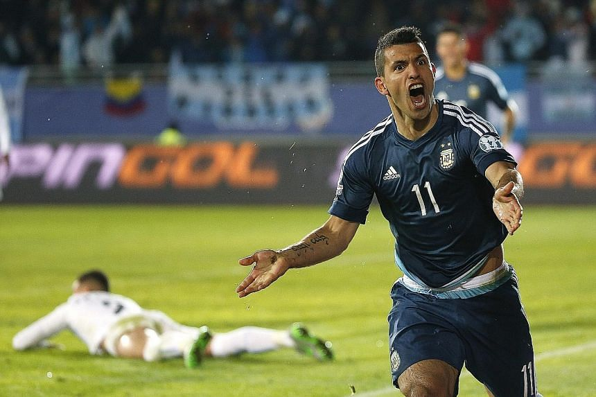 Sergio Aguero's strike against Uruguay in a 1-0 victory paves the way for Argentina to advance further in the Copa America.
