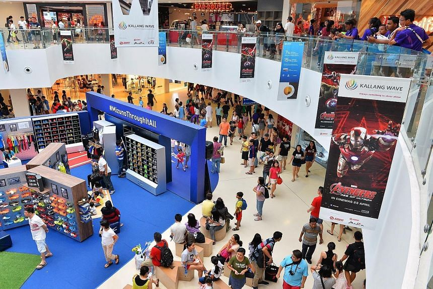 Food-and-beverage outlets at the Kallang Wave mall were major beneficiaries, tapping the crowds who thronged the SEA Games venues.