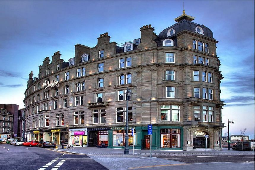 A Malmaison hotel in Britain. Frasers Hospitality is buying the Malmaison Hotel du Vin group of boutique hotels for £363.4 million ($770 million) - its biggest acquisition yet.