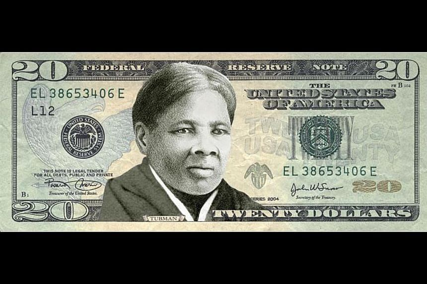 A new US$10 bill, set to be unveiled in 2020, will feature a woman who has contributed to American democracy. A campaign in May had urged US President Barack Obama to put anti-slavery icon Harriet Tubman (above) on the country's $20 bill.