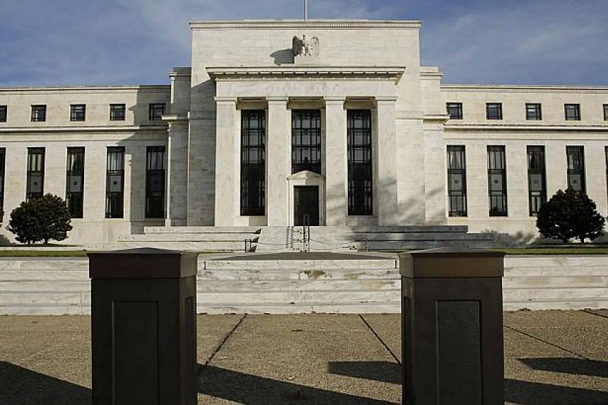 The US Federal Reserve Board building in Washington.