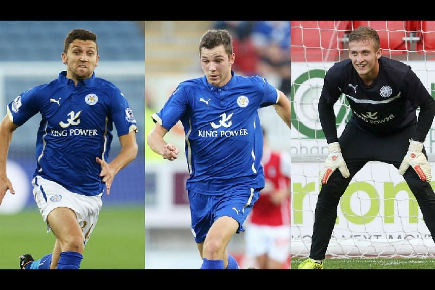 Leicester have sacked three players, James Pearson (left), Tom Hopper (centre) and Adam Smith after they appeared in a sexually-explicit video.