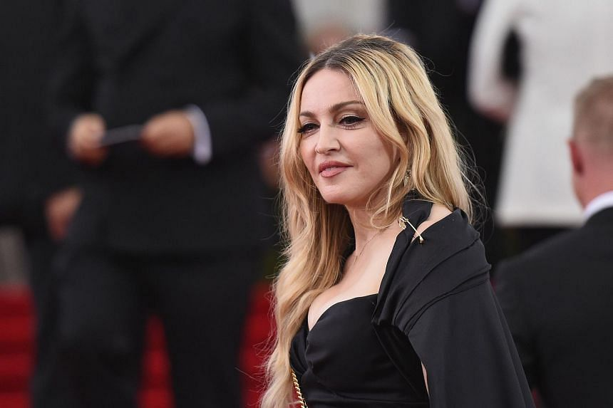Madonna at the China: Through The Looking Glass Costume Institute Benefit Gala on May 4, 2015.