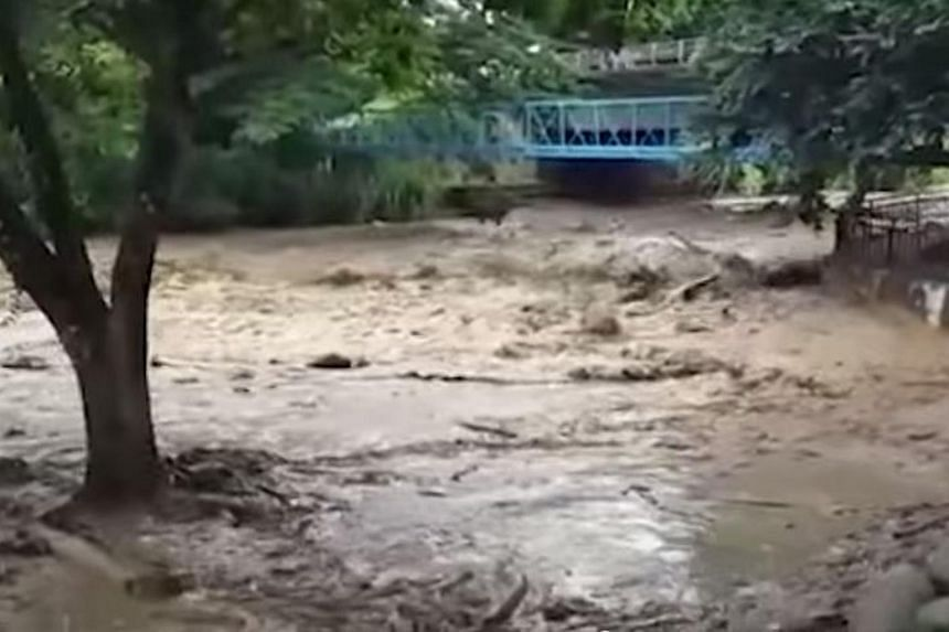Rivers clogged with fallen trees and boulders following the earthquake in Sabah on June 5 is affecting Ranau district's water treatment plant.