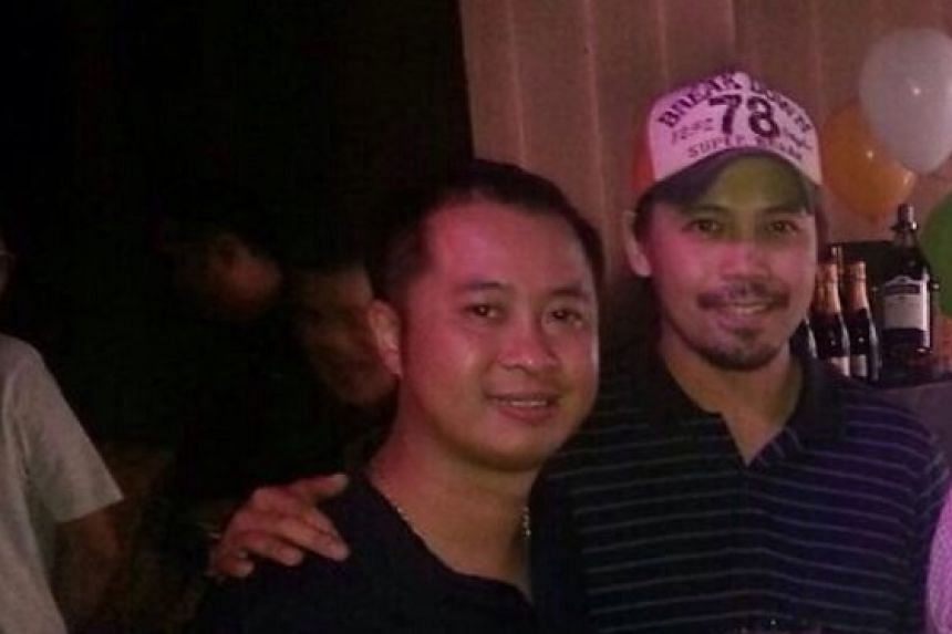 Mr Eugene Tin (left) and Mr Kwek Kon Chun (right) in a photo taken last year.