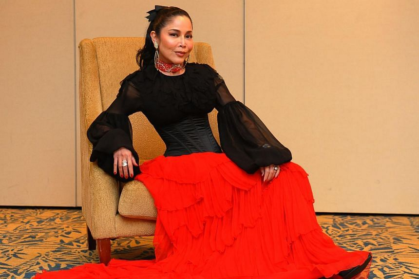 Anita Sarawak had a spine operation in October 2013 and was hospitalised for four days, a report said.