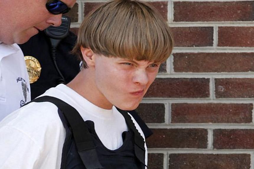 Suspected shooter Dylann Roof, 21, following his arrest on June 18, 2015.