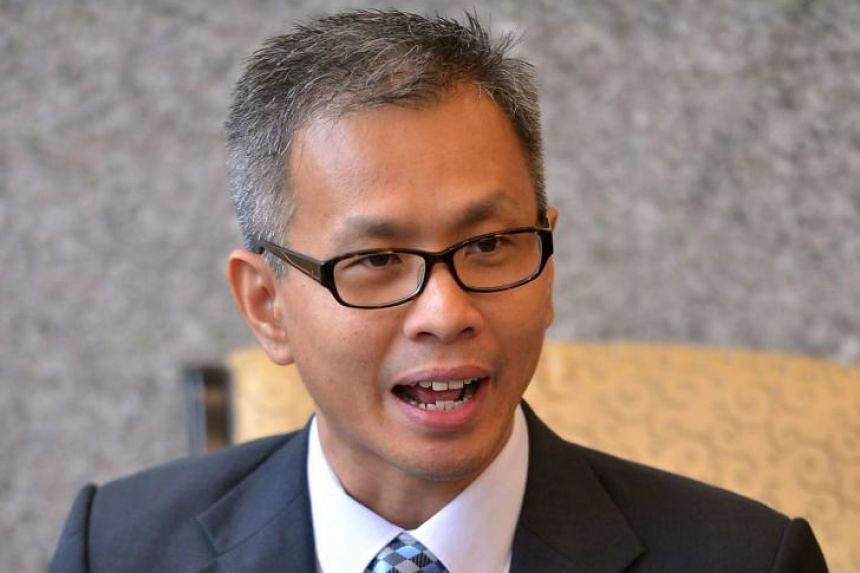 DAP's Selangor chairman Tony Pua (above) said yesterday that his party plans to meet Menteri Besar Azmin Ali  to discuss the situation. Mr Azmin is in a tough spot as PKR does not have the figures for a majority in the Selangor state assembly.