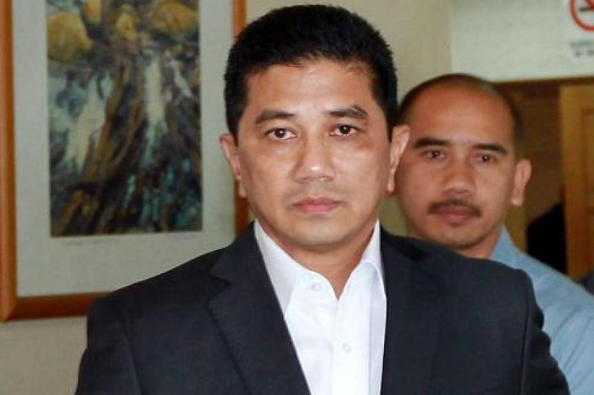 DAP's Selangor chairman Tony Pua said yesterday that his party plans to meet Menteri Besar Azmin Ali (above) to discuss the situation. Mr Azmin is in a tough spot as PKR does not have the figures for a majority in the Selangor state assembly.
