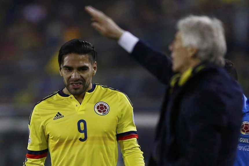 Radamel Falcao was not a hit at Man United but could find more joy at Chelsea playing with Diego Costa, his team-mate at Atletico Madrid.