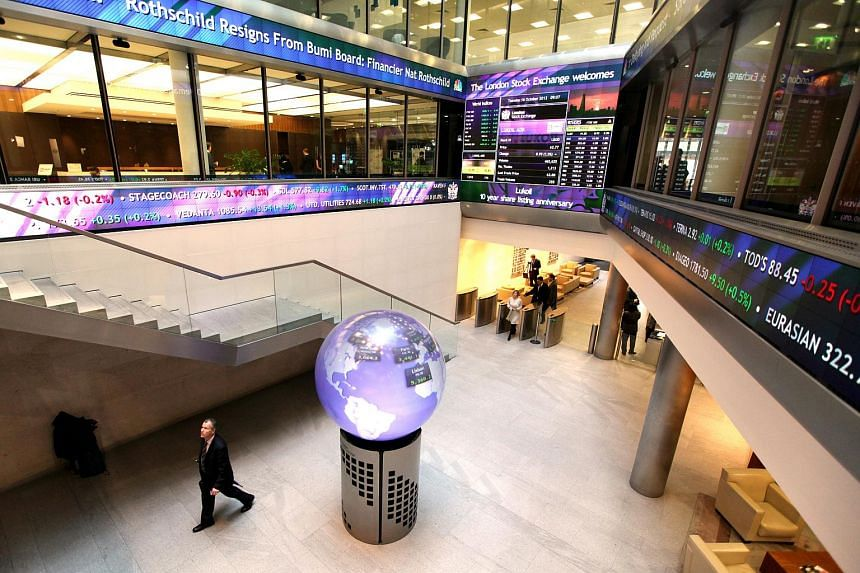 The London Stock Exchange (above) is in talks to create a stock trading link with the Shanghai Stock Exchange similar to the one between Hong Kong and Shanghai.