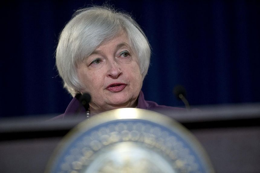 Ms Janet Yellen, chair of the US Federal Reserve, at a news conference following a Federal Open Market Committee meeting in Washington, D.C., on June 17, 2015.