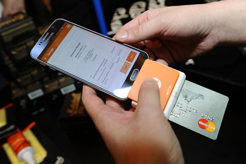 M1's mobile point-of-sale device enables smartphones and tablets to act as wireless terminals that can accept card payments.