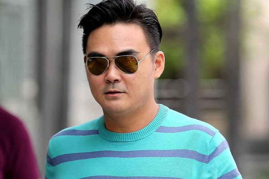 Koh Guan Seng, Kelvin Lim Zhi Wei, Kam Kok Keong and Lim Hong Ching (above), employees of the now-defunct Mobile Air phone shop, have been charged with cheating.