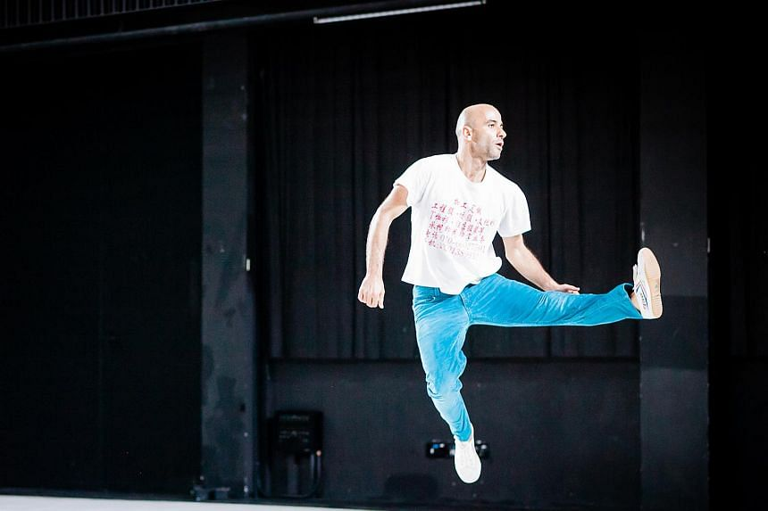 Cristian Duarte shifts from balletic grace to the sassiness of jazz with great east.