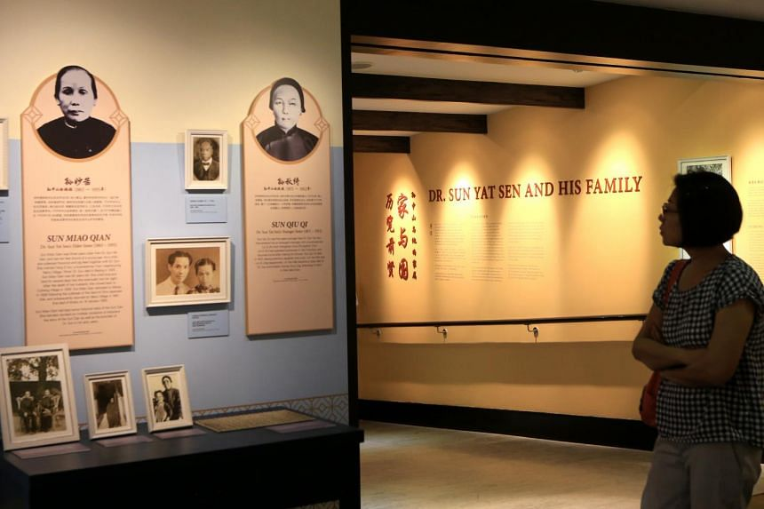 The exhibition, Dr Sun Yat Sen And His Family, will be launched on Saturday at the Sun Yat Sen Nanyang Memorial Hall.