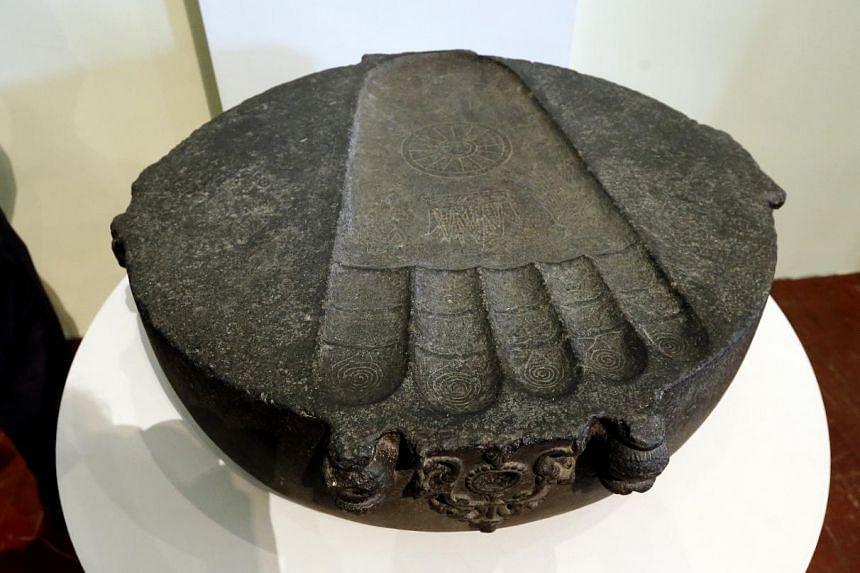 Footprint of the buddha.