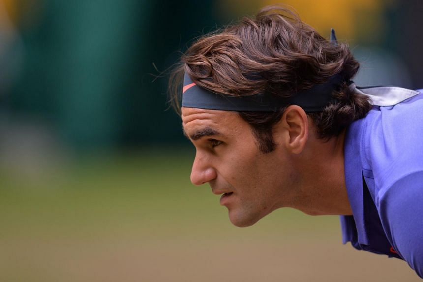 Roger Federer reached the Halle grass-court final for the 10th time.
