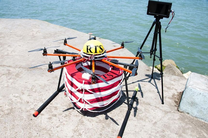 During its trial in the Caspian Sea in 2013, the Pars rescue robot reached a potential victim three times faster than its human counterpart, in 22 seconds instead of 90 seconds.