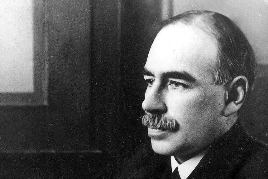 John Maynard Keynes (above) is famous for his economic theories. Less well-known are his stock-picking skills which made his alma mater King's College (left), where he was bursar, one of the wealthiest at Cambridge University.