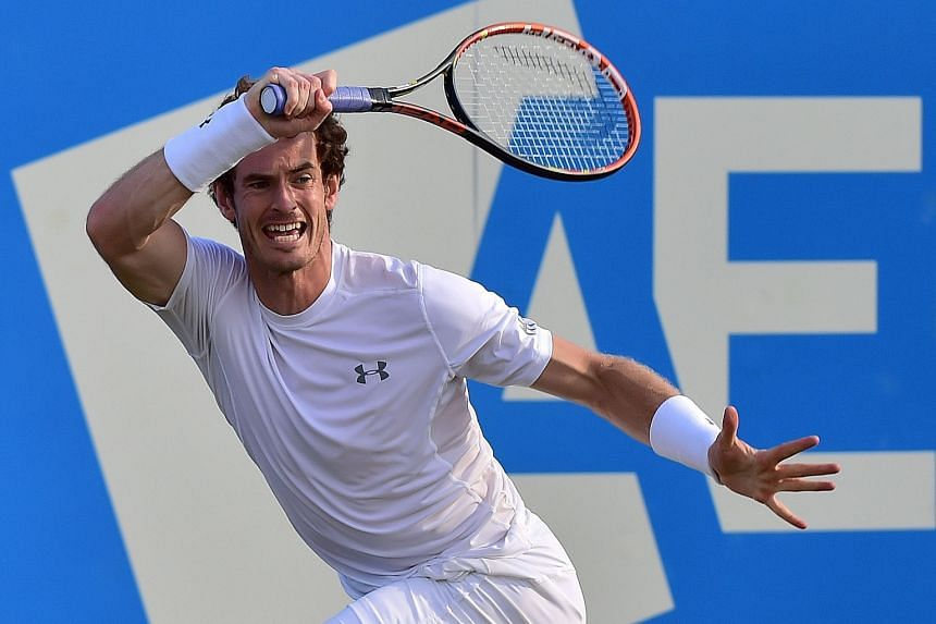 Andy Murray was not at his best against Gilles Muller but did enough to earn a victory in the match that had Jose Mourinho among the spectators. Murray befriended the Chelsea boss when he used the club's facilities near his home.