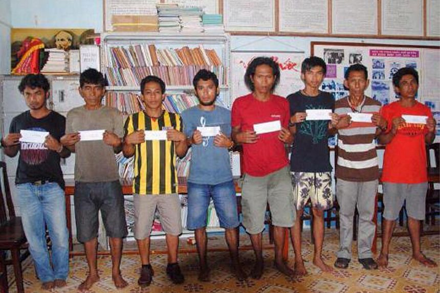 The eight suspects in the hijacking of Malaysian oil tanker MT Okim Harmony have confessed to the crime.