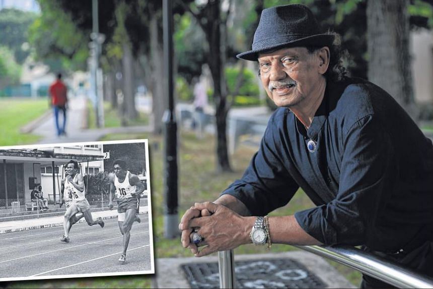 Farrer Park produced top athletes such as former national sprinter C. Kunalan (on the right in inset picture).