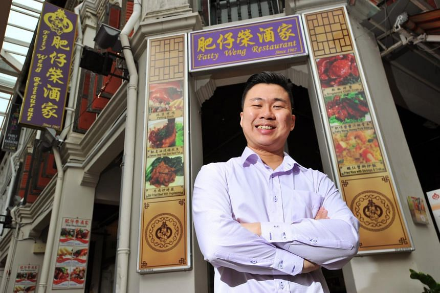 Fatty Weng's executive director Derek Lai and his head chef come up with new dishes every six months.