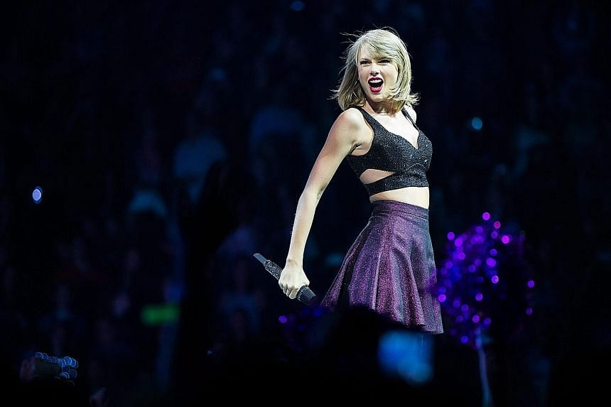 Since its October release, 1989 by singer Taylor Swift (above) has sold more than 4.9 million albums in the United States.