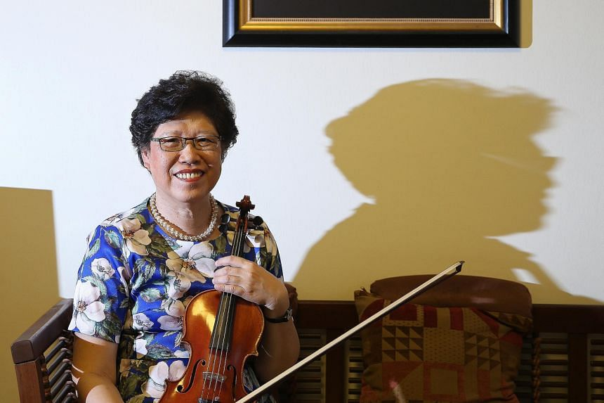 Cultural Medallion recipient Vivien Goh picked a career as a music teacher over one as a performer.
