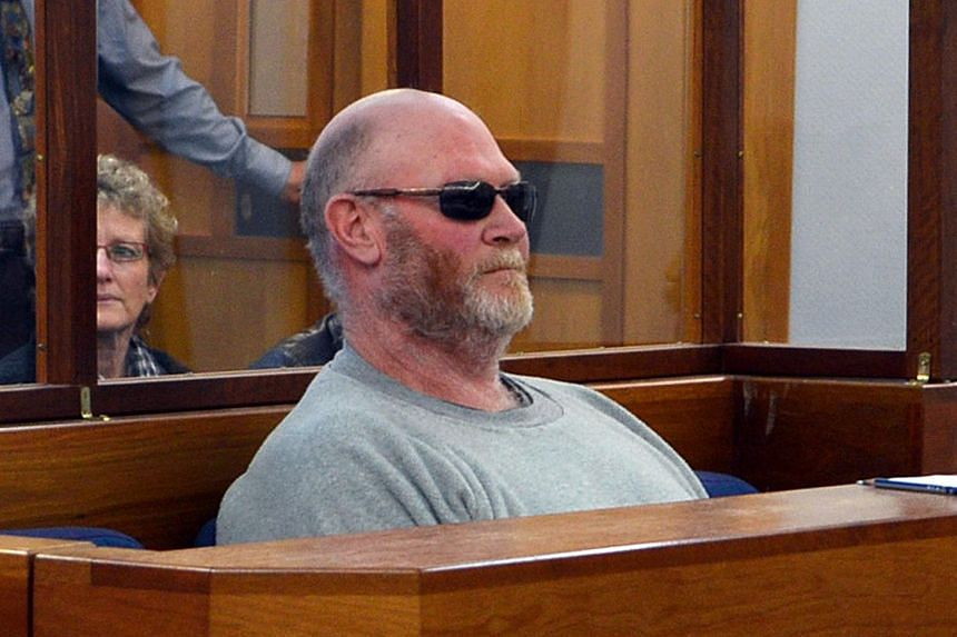 New Zealand man Philip Lyle Hansen sitting in the dock at the Wellington District Court.