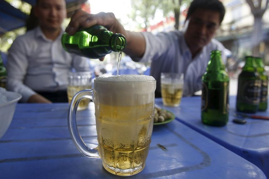 Niya county, a heavily Muslim southern part of China's unruly region of Xinjiang, has held a beer festival in the run-up to the holy month of Ramadan.