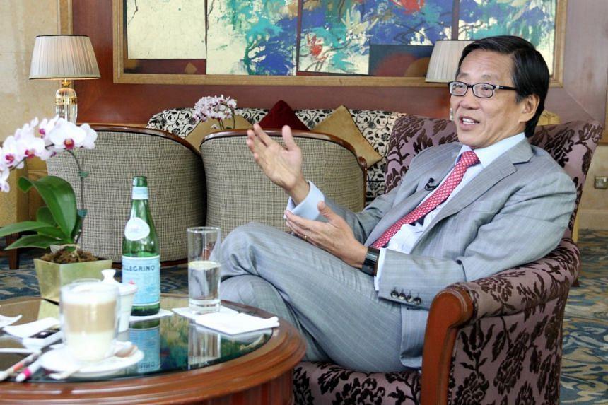 Mr Ho Kwon Ping, executive chairman of Banyan Tree Holdings, on Singapore's trajectory over the next 50 years. - ST PHOTO: KEMBURAJU THANGARAJAN