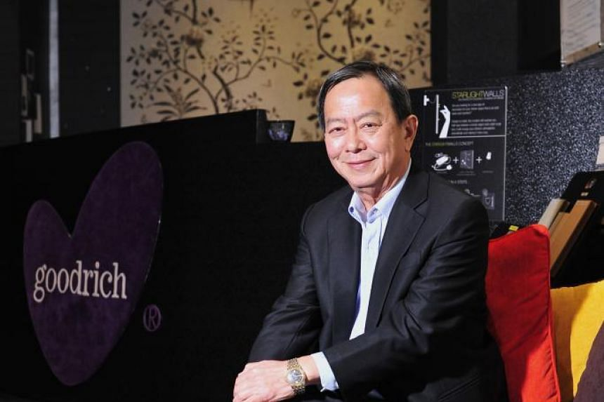 Goodrich Global CEO Chan Chong Beng says that unless a newcomer has specific required skills, he would rather retain his employees for the sake of the company culture and the value they bring. -- PHOTO: DIOS VINCOY JR FOR THE STRAITS TIMES