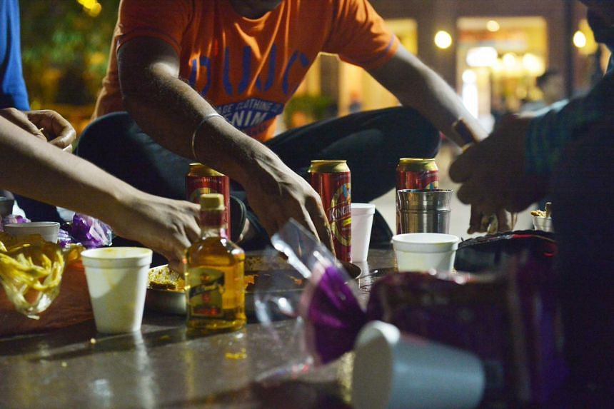 In Singapore, 18.7 per cent of men and 12.2 per cent of women aged 18 to 29 binge drink, which is defined as having fouror more alcoholic drinks in one session for women, and five or more for men.