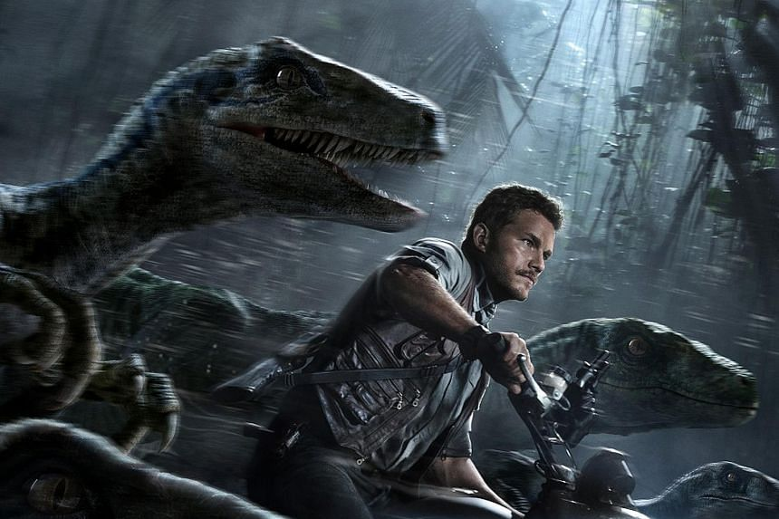 Jurassic World, starring Chris Pratt, scored US$102 million at the North American box office over the weekend.