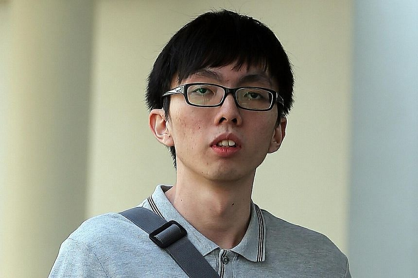 Sng Qi Zhi, 26, faced a total of 247 charges of insulting modesty. Many of his videos targeted females in short skirts in malls.