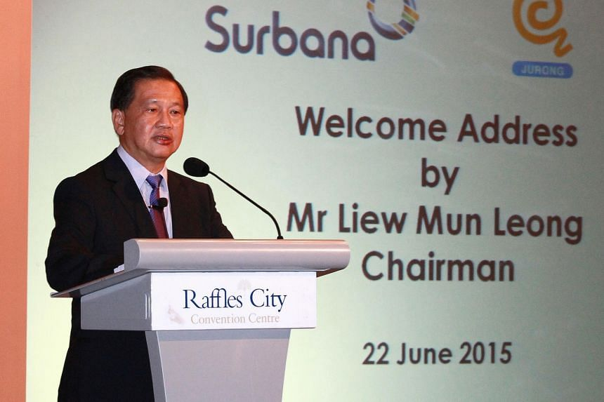 Surbana Jurong chairman Liew Mun Leong said the company will be poised to ride the explosive growth in spending on infrastructure and urban development in Asia.
