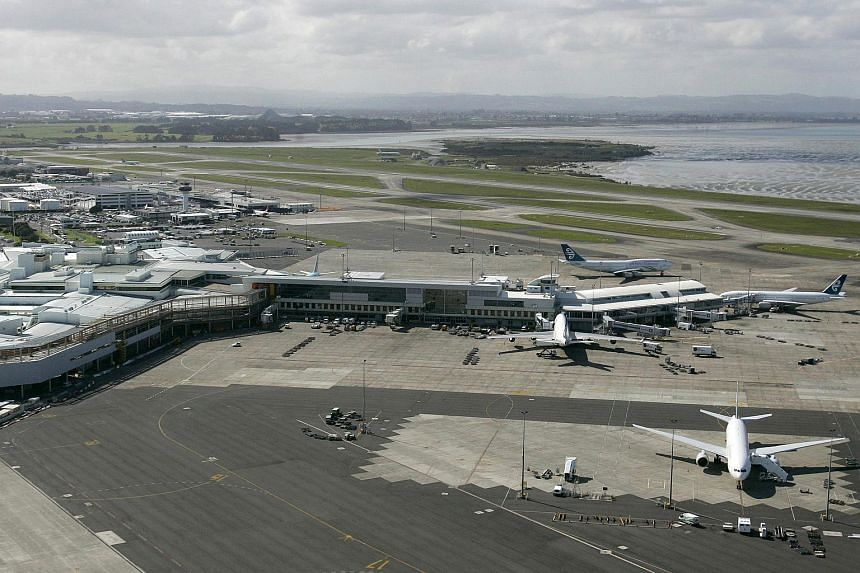 A 2007 photo of the Auckland International Airport. All aircraft in New Zealand were grounded on June 23, 2015, after an air traffic control system fault.