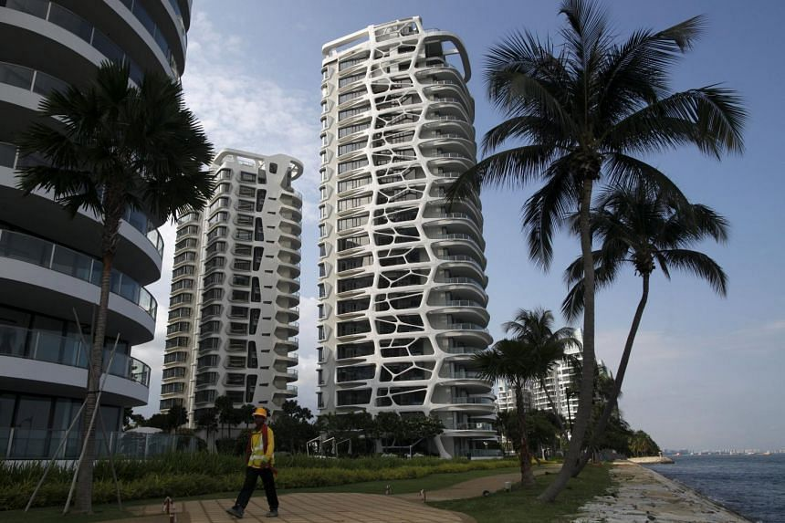 The prices of luxury condos have declined more sharply.