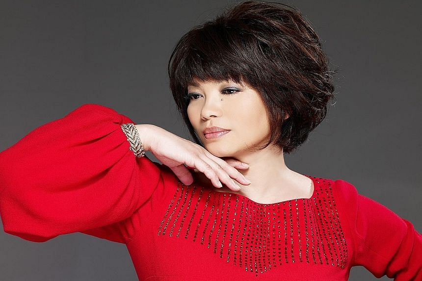 The concert title points to Tsai Chin's aim to perform music as a positive force to lift the spirits of unhappy people.