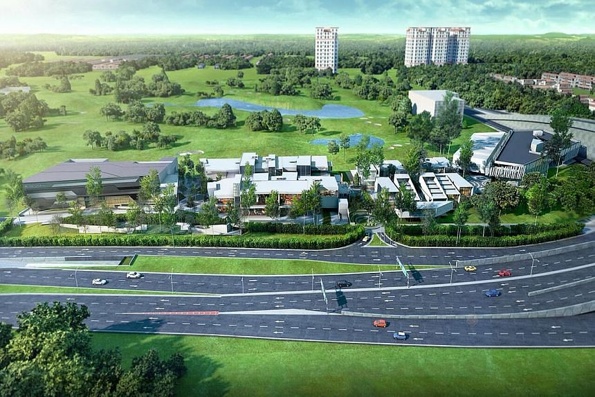 An artist's impression (above) of the new lifestyle and entertainment hub called Trec, which will be located near KL's Royal Selangor Golf Club. Zouk KL co-founder Cher Ng (below) says he felt it was about time Malaysia had an entertainment enclave,