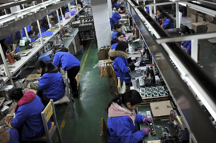 The HSBC/Markit Flash China Manufacturing Purchasing Managers' Index (PMI) edged up from 49.2 to 49.6 this month - a three-month high - but remained below the 50 mark that separates contraction from expansion.