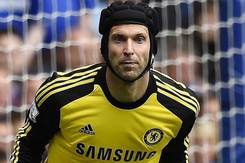 Petr Cech could face his former club in the Community Shield if the move to Arsenal comes true.